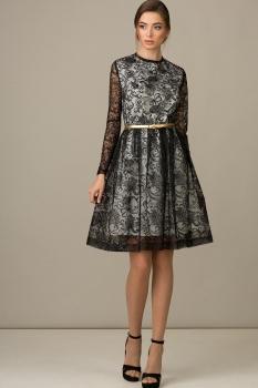Платье Rosheli 433 черный