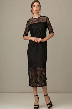 Платье Rosheli 434 черный
