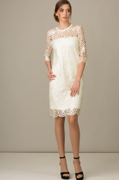 Платье Rosheli 436 белый