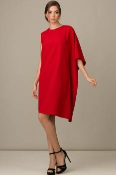 Платье Rosheli 447 красный