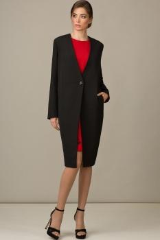 Пиджак Rosheli 450-Б черный+василек