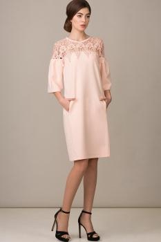 Платье Rosheli 454 пудра