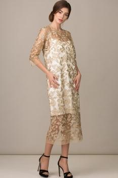 Платье Rosheli 457 молочный