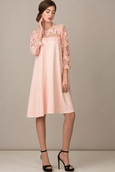 Платье Rosheli 460 пудра