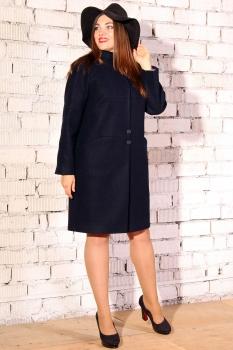 Пальто Runella 1114-2 темно-синий