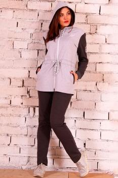 Спортивный костюм Runella 1222 серый