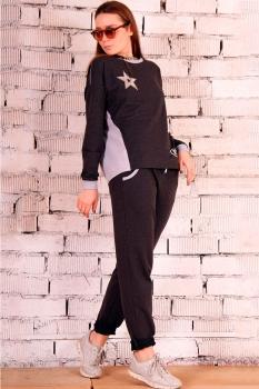 Спортивный костюм Runella 1223 графит