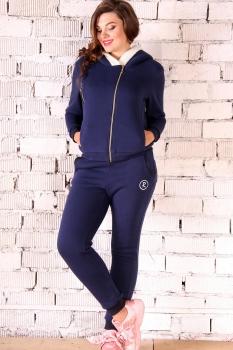 Спортивный костюм Runella 1272 синий