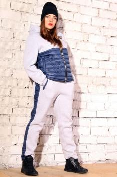 Спортивный костюм Runella 1278-1 серый