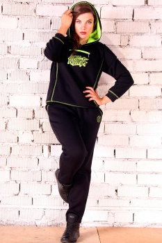 Спортивный костюм Runella 1279 черный