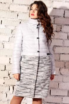 Пальто Runella 1296-1 белый