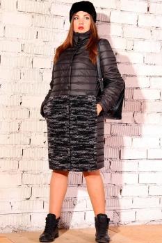 Пальто Runella 1296 черный