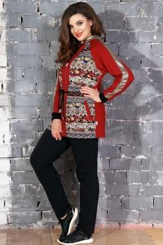 Спортивный костюм Runella 1346 красный