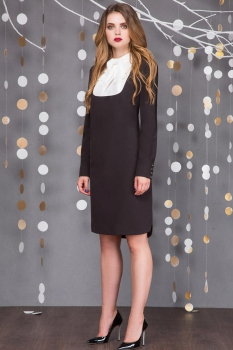 Платье Sandyna 13321 черный