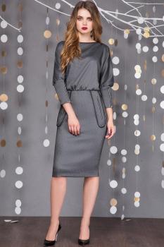 Платье Sandyna 13322 серые тона