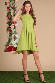 Платье Sandyna 13411 светло-зеленый