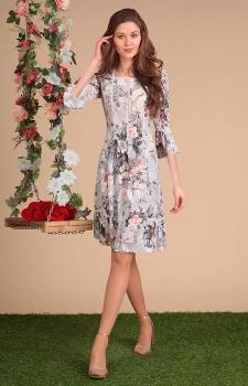 Платье Sandyna 13413 цветы