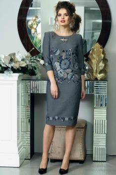 Платье Solomea Lux 400-1 серый