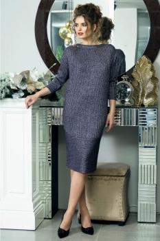 Платье Solomea Lux 410 серый