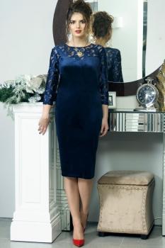 Платье Solomea Lux 412 синий