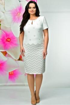 Платье Solomea Lux 429B светлые-тона