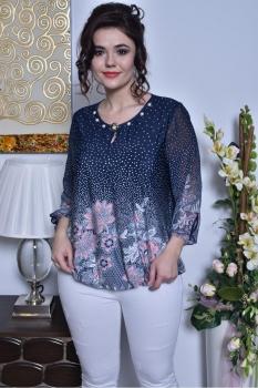 Блузка Solomea Lux 438-2 синий