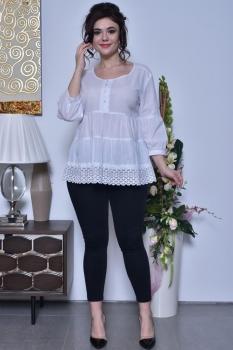 Блузка Solomea Lux 441 белый