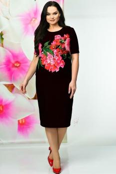 Платье Solomea Lux 447 черный