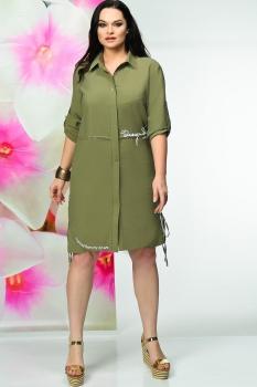Платье Solomea Lux 450 хаки