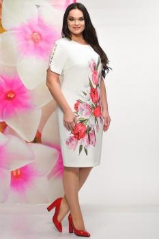 Платье Solomea Lux 452 светлые-тона