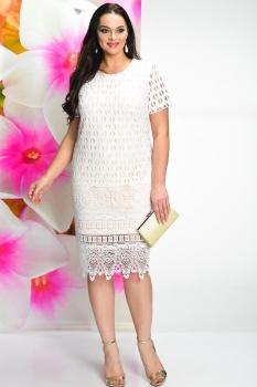 Платье Solomea Lux 458-1 белый