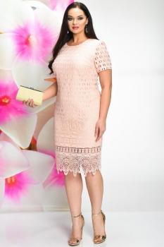 Платье Solomea Lux 458-2 розовый