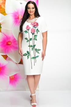 Платье Solomea Lux 460 белый