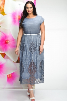 Платье Solomea Lux 461-1 синий