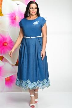 Платье Solomea Lux 461 васильковый