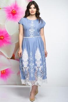 Платье Solomea Lux 462-1 голубой