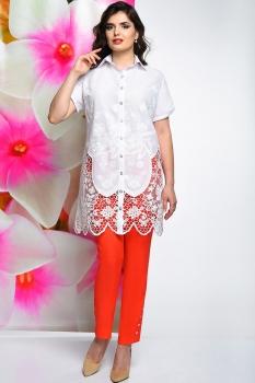 Блузка Solomea Lux 465 белый