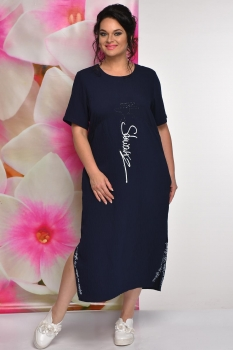 Платье Solomea Lux 473 синий