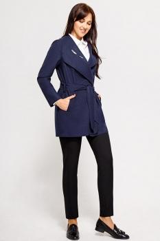 Пальто Swallow 070-1 темно-синий