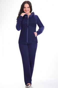 Спортивный костюм Teffi Style 1067 синий