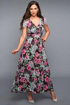 Платье Teffi Style 1317-1 шоколад