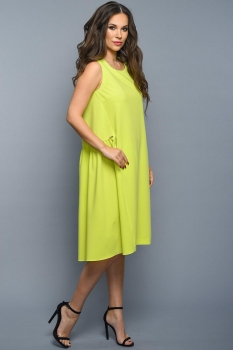 Платье Teffi Style 1328-2 лайм