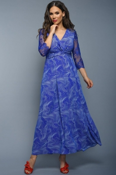 Платье Teffi Style 1348 волна на можарель