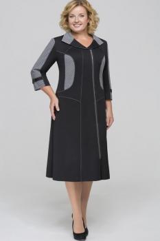 Платье Теллура-Л 1269 черный