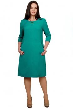Платье Тэнси 171-1 бирюзовый оттенок