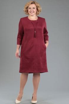 Платье Тэнси 208-9 баклажан new