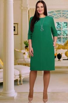 Платье Тэнси 208Б-6 изумруд