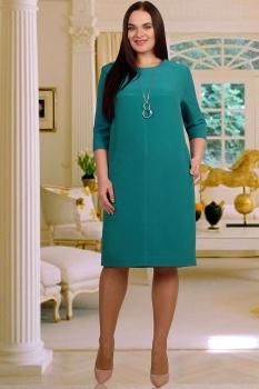 Платье Тэнси 208Б-7 бирюза
