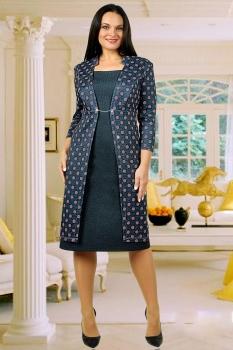 Платье Тэнси 215с темно-синий