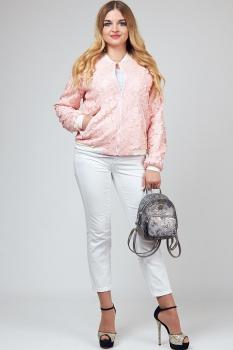 Куртка Тэнси 222 персик